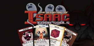 The official Binding of Isaac multiplayer card game, about sacrifice, betrayal and hoarding
