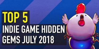 Top 5 Indie Game Hidden Gems July 2018
