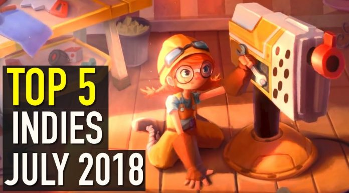 Top 5 Indies July 2018