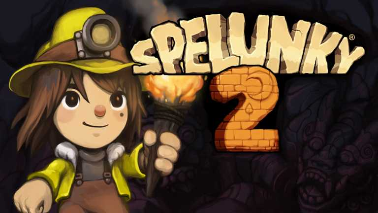 Spelunkey 2's first Gameplay Trailer shows off Online Multiplayer