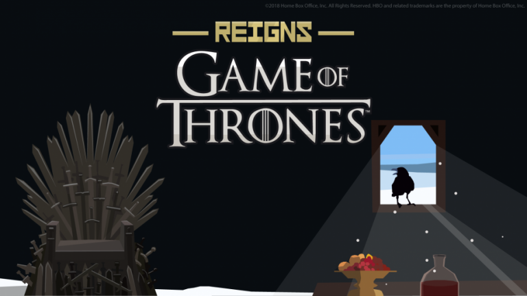 Reigns: Game of Thrones Launches 18th October