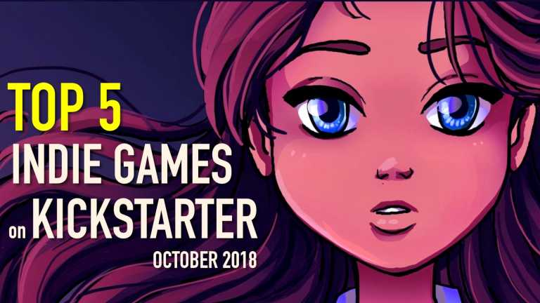 Top 5 Indie Games on Kickstarter – October 2018